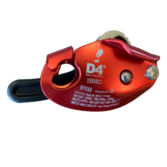 HD26268R ISC D4™ Work-Rescue Descender