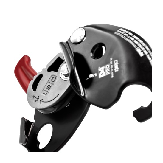 HD26289 ISC D4PRO Work-Rescue Descender without Panic Brake - open