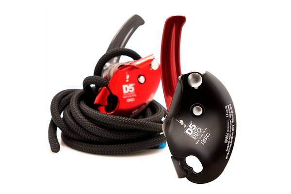 HD26290 ISC D5 Pro Work-Rescue without Panic Brake and D5 Work-Rescue Descender with Panic Brake