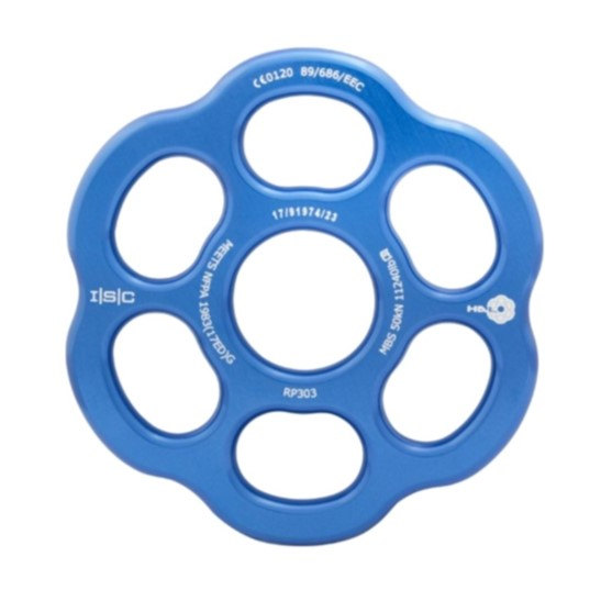 HD26299 ISC Medium HALO Rigging Plate - Ali - Blue