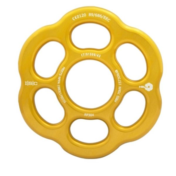 HD26300 ISC Large HALO Rigging Plate - Ali - Gold