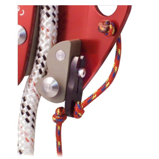 HD26294 ISC RED Back-up Device 10.5mm -11.5mm Rope with Pop - Close up