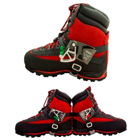 HD26308 Right and HD26309 Left STRYDER-Foot-Ascender -on boot