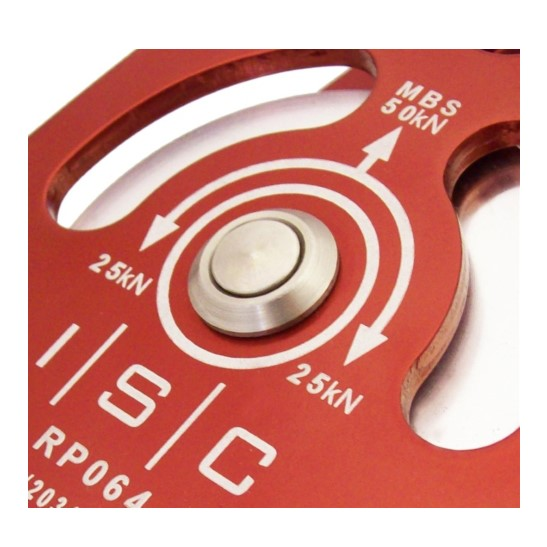 HD26321 ISC Medium Double Prussik- Aluminium with Bushing & Becket max. 13mm rope