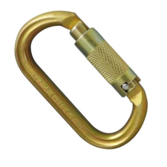 HD26330 ISC Offset Oval Steel Keylock Karabiner Supersafe