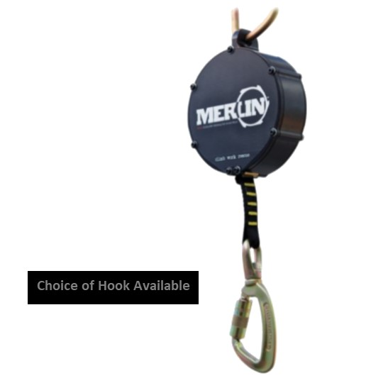 HD26333 ISC 20FT Merlin Fall Arrest Block - Choice of Hook Available
